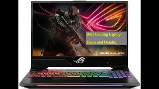 Best Gaming Laptop ASUS ROG Strix Hero II review
