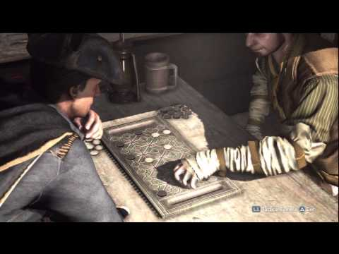 Haytham vs. a fanorona player on Creed III