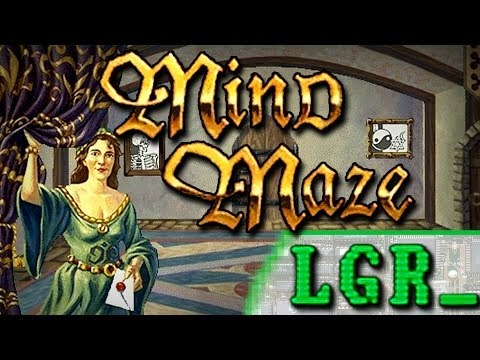 LGR - Encarta Mind Maze - PC Game Review