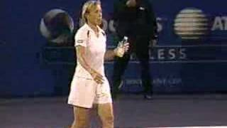 Ballboy Plays Against Arantxa Sanchez-Vicario
