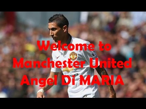 Angel Di Maria (#7) arrives at Manchester United - Amazing Footage