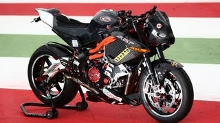 Benelli TnT Supercharged 222 HP Evotech