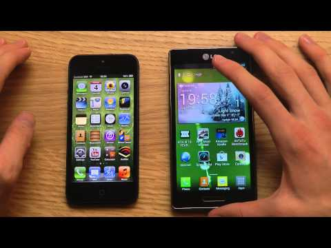 iPhone 5 vs. Optimus L9
