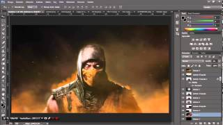 SpeedArt #1 - Mortal Combat