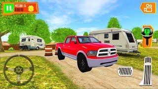 Camper Van Beach Resort #2 - Car Game Android iOS Gameplay