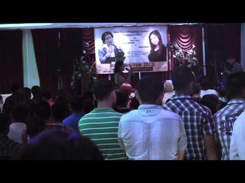Bhishan Mukarung & Shreya Sotang Live Concert Singapore Part...
