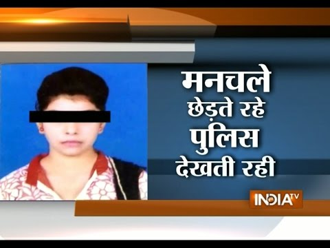 India TV Debate: 17-year-old Girl Hang Herself after Being Harassed in Noida - India TV