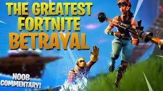The Greatest Fortnite Betrayal (Fortnite Battle Royale)