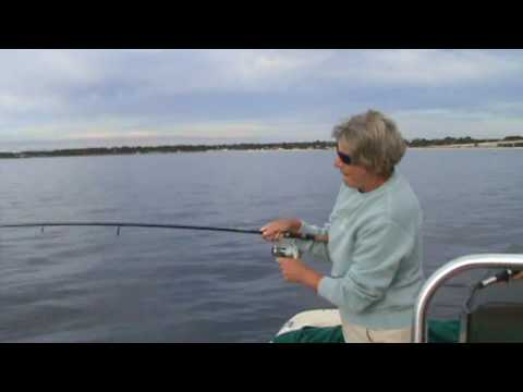 Redfish Fishing Port St Joe Florida 2.mpg