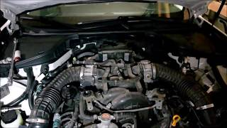Infiniti M56 coolant leak pt 2. Thermostat housing common issue?