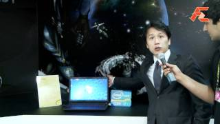 Clevo unveils their latest 3D gaming notebooks @ Computex 2011