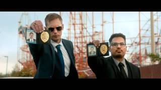 War On Everyone Official Trailer (2017) - Alexander Skarsgard, Michael Pena