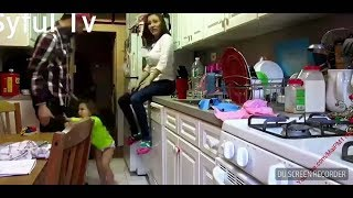 jealous baby her kissing Parents... so very funny video,