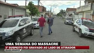 Suzano: Vídeo flagra menor suspeito ao lado de atirador