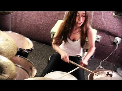 Slipknot - Psychosocial - Drum Cover By Meytal Cohen video