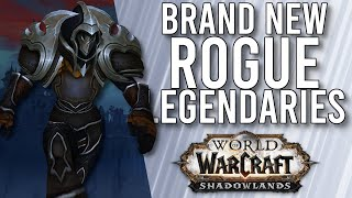 More Rogue Legendaries Announced! Rogue Update In Shadowlands! - WoW: Shadowlands Beta