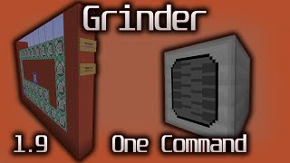 [Contraption] Grinder From Dull Dusks in only One Command!