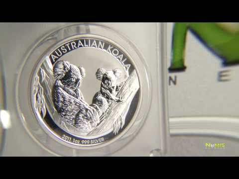 Numis Network, Silver Coin Of The Month,  2011 Australian Koala,