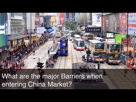 Barriers when entering China Market 1 - Alarice International