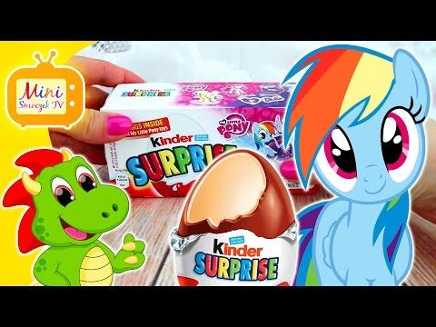 My Little Pony Film Jajka Kinder Niespodzianki! MLP Filmik Dla Dzieci PO POLSKU [HD]