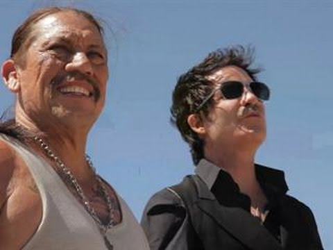 EXCLUSIVE! On Set With Danny Trejo, Hannah Simone and Train The 39Angel in Blue Jeans39 Shoot