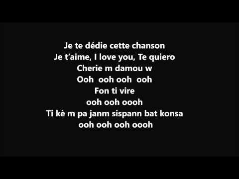 Ma cherie je t'aime lyrics - T-vice