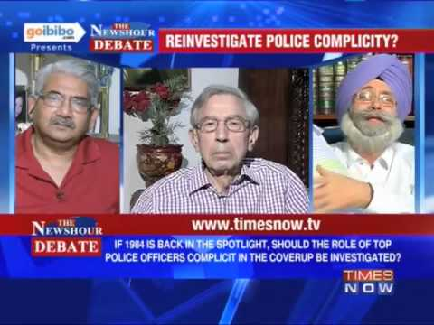 The Newshour Debate: Who is responsible for the 1984 Anti-Sikh Riots? (The Full Debate)