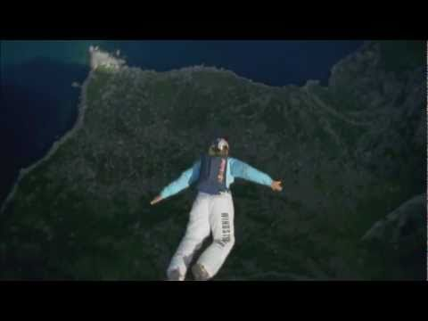 Base-jumping with Jeb Corliss and Karina Hollekim
