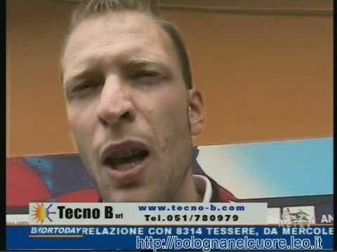 Bologna FC 1909 25/07/2011 Federico Agliardi intervistato nel giorno della presentazione
