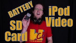 iPod Video Micro SD Card Upgrade, Battery Replacement, and Rockbox Installation