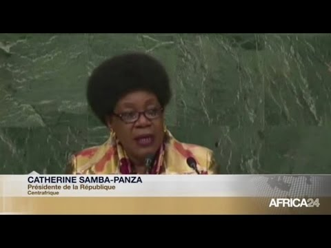 DISCOURS - Catherine Samba-Panza lors de la 70e session de l'Assemblée générale des Nations Unies