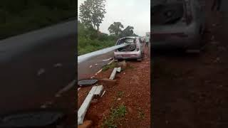 ACCIDENT ON OLD GOA BYPASS ROAD IN STATE GOA NEAR PANJIM