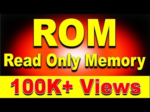 Computer ROM (Read Only Memory) Explained ft. ROM Types MROM, PROM, EPROM, EEPROM [Hindi]