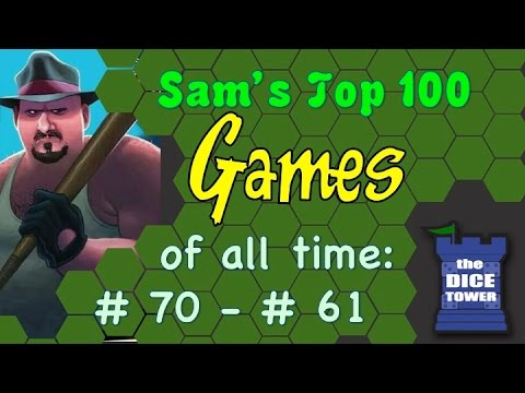 Sam's Top 100 Games of all Time: # 70 - # 61