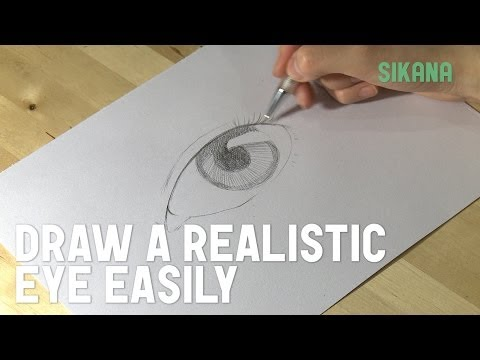 How to Draw a Realistic Eye Easily