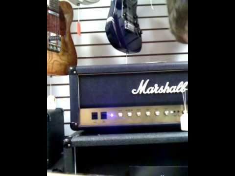 Demo Fender Black Top HH - improv jam 2 (better sound) marshall vintage modern