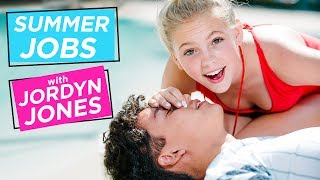 Download Lagu JORDYN JONES GIVES MOUTH TO MOUTH!? | Summer Jobs w/ Jordyn Jones Gratis STAFABAND