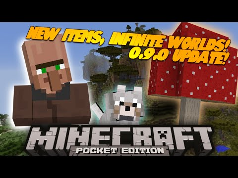 Minecraft PE A New World 0.9.0 Update Minecraft Pocket Edition Series