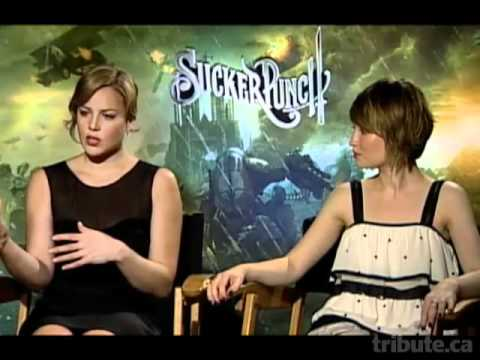 Abbie Cornish and Emily Browning - Sucker Punch Interview