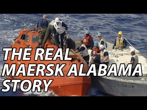 The Real Maersk Alabama/Somali Pirate story (Never seen before footage)