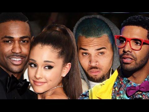 Ariana Grande & Big Sean Call Out Chris Brown & Drake