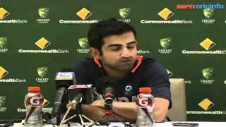 Gautam Gambhir, 4th ODI, Australia v India, Adelaide