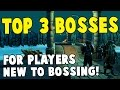 Runescape 2017 | Top 3 Bosses For Players New to Bossing! | Insane money!