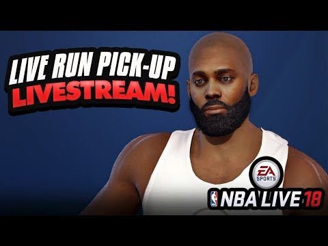NBA LIVE 18 DEMO STREAM! LIVE RUN PICK-UP GAMES WITH YOUTUBERS & STREAMERS