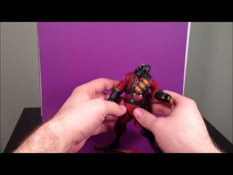 NECA TF2 Pyro Action Figure Review