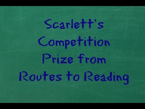 Scarlett's Competition Prize from Routes to Reading I Viccy Vlogs