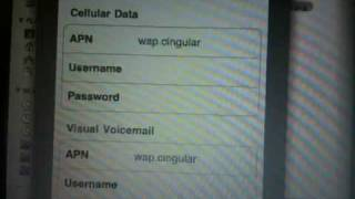 How to get mms on iPhone 3gs 3.0.1 without itunes (AT&T)