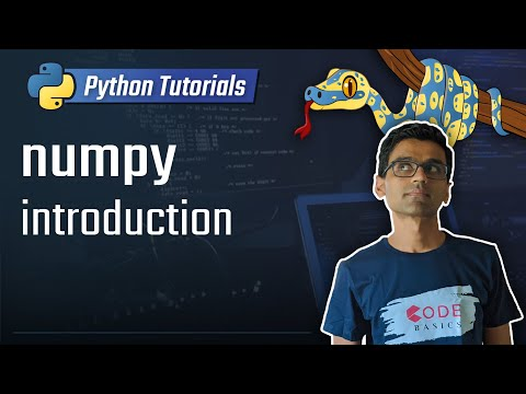 numpy tutorial - introduction