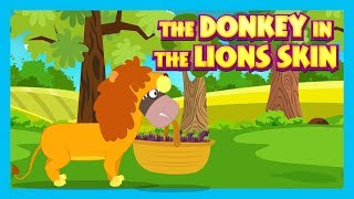 THE DONKEY IN THE LION