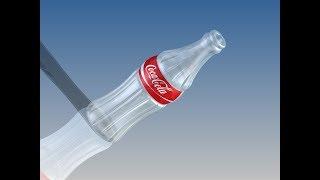 Coca Cola Bottle (Autodesk Inventor Tutorial)